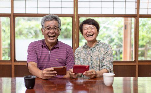 老夫婦モデル