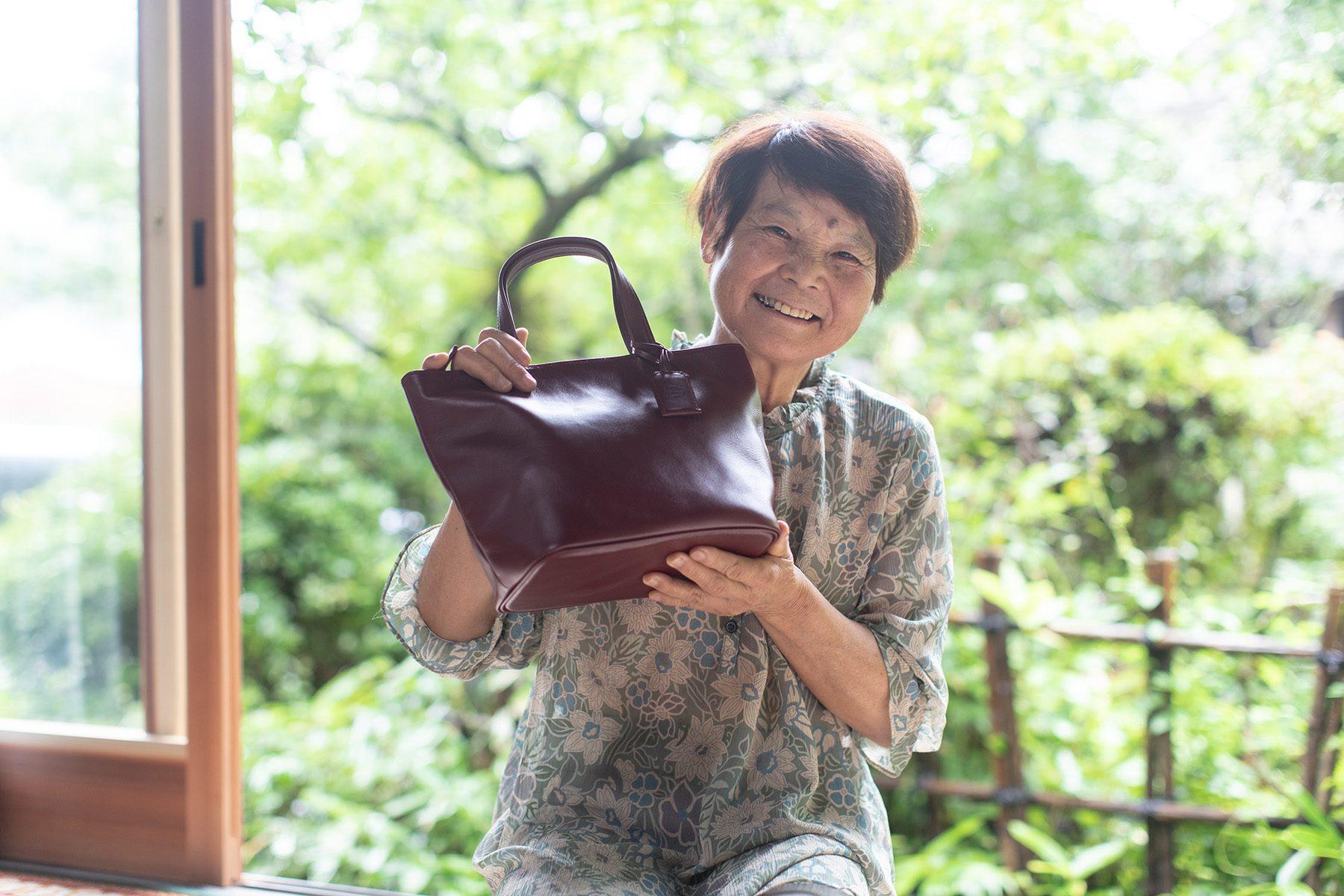 ばあちゃんのバッグ