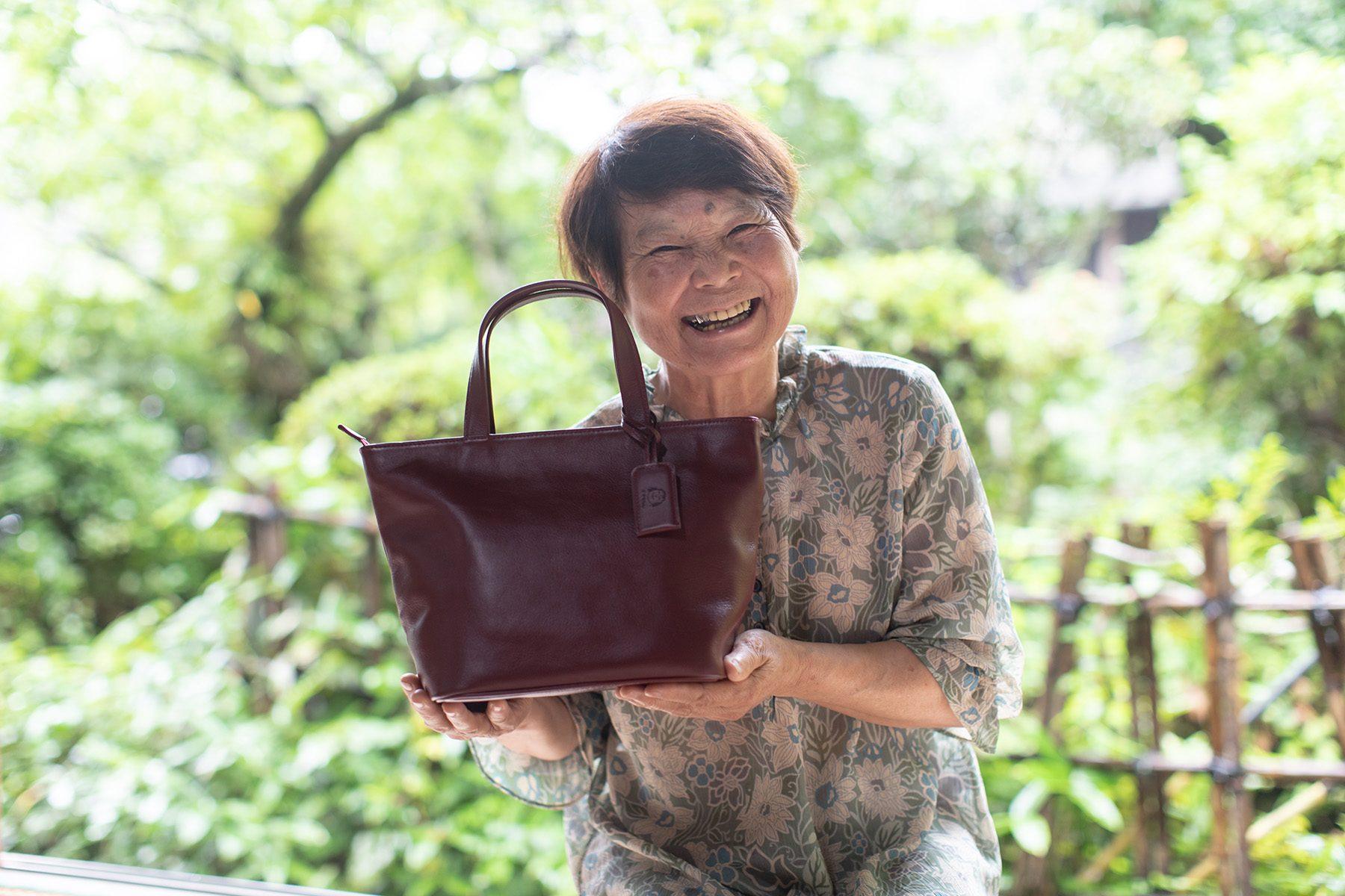 祖母へのプレゼント