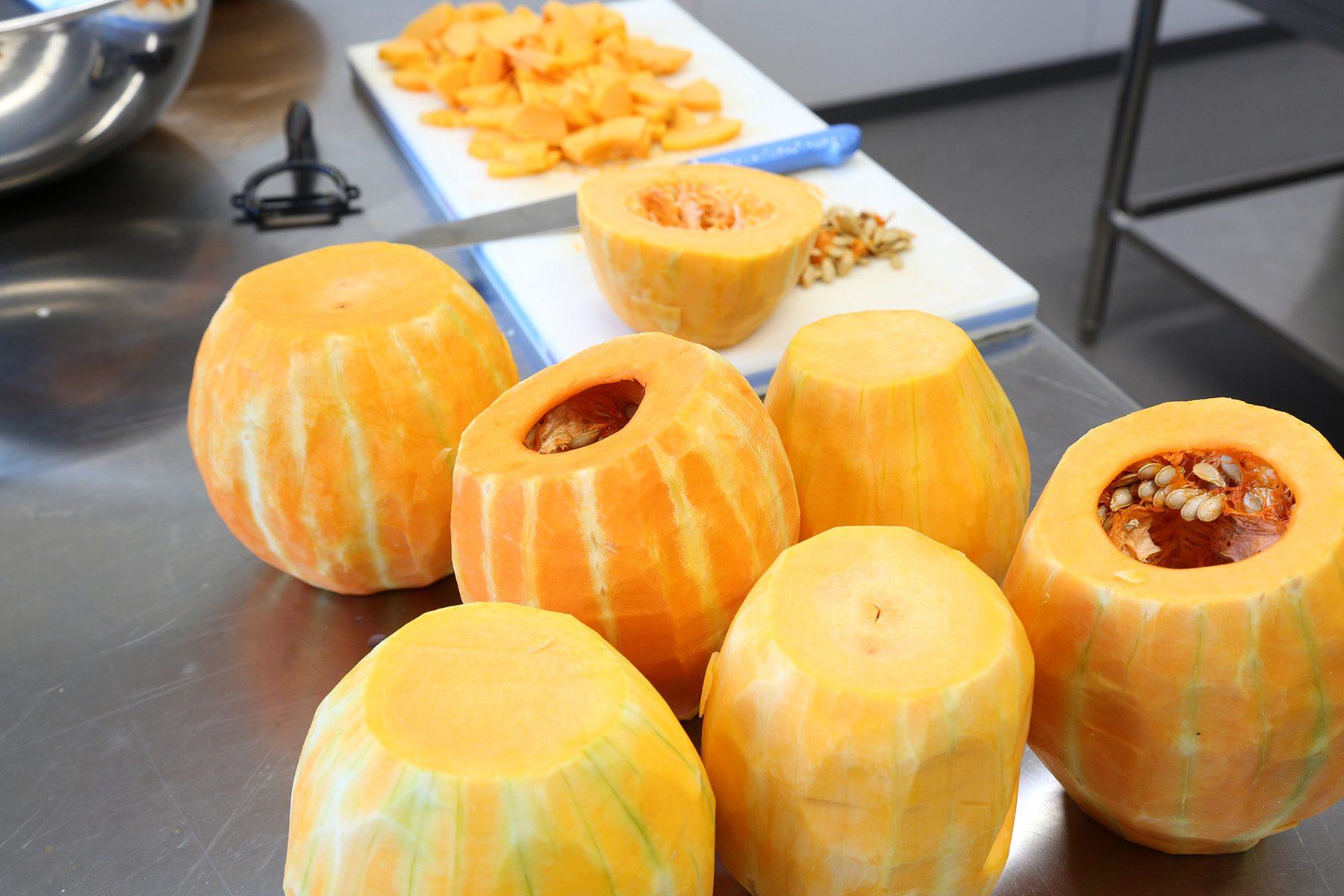 在来種のかぼちゃ