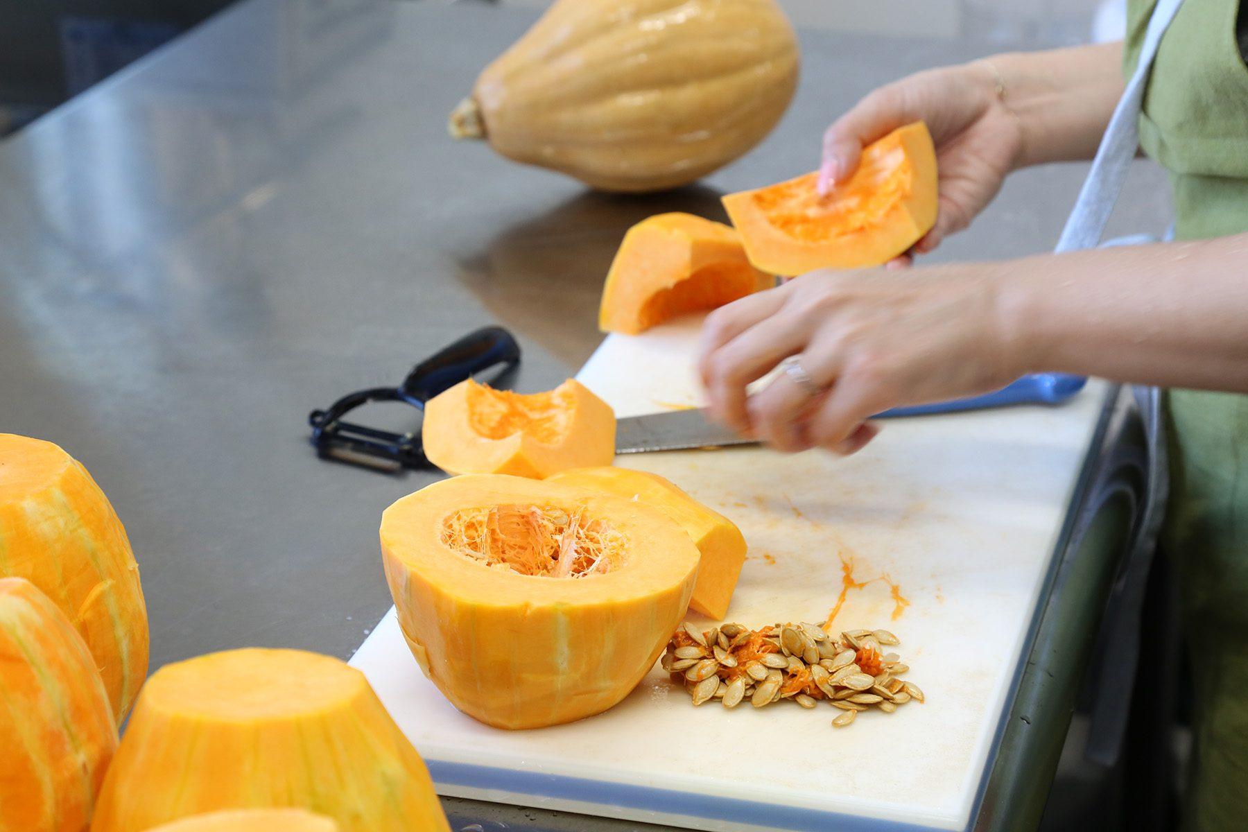 無農薬のかぼちゃ