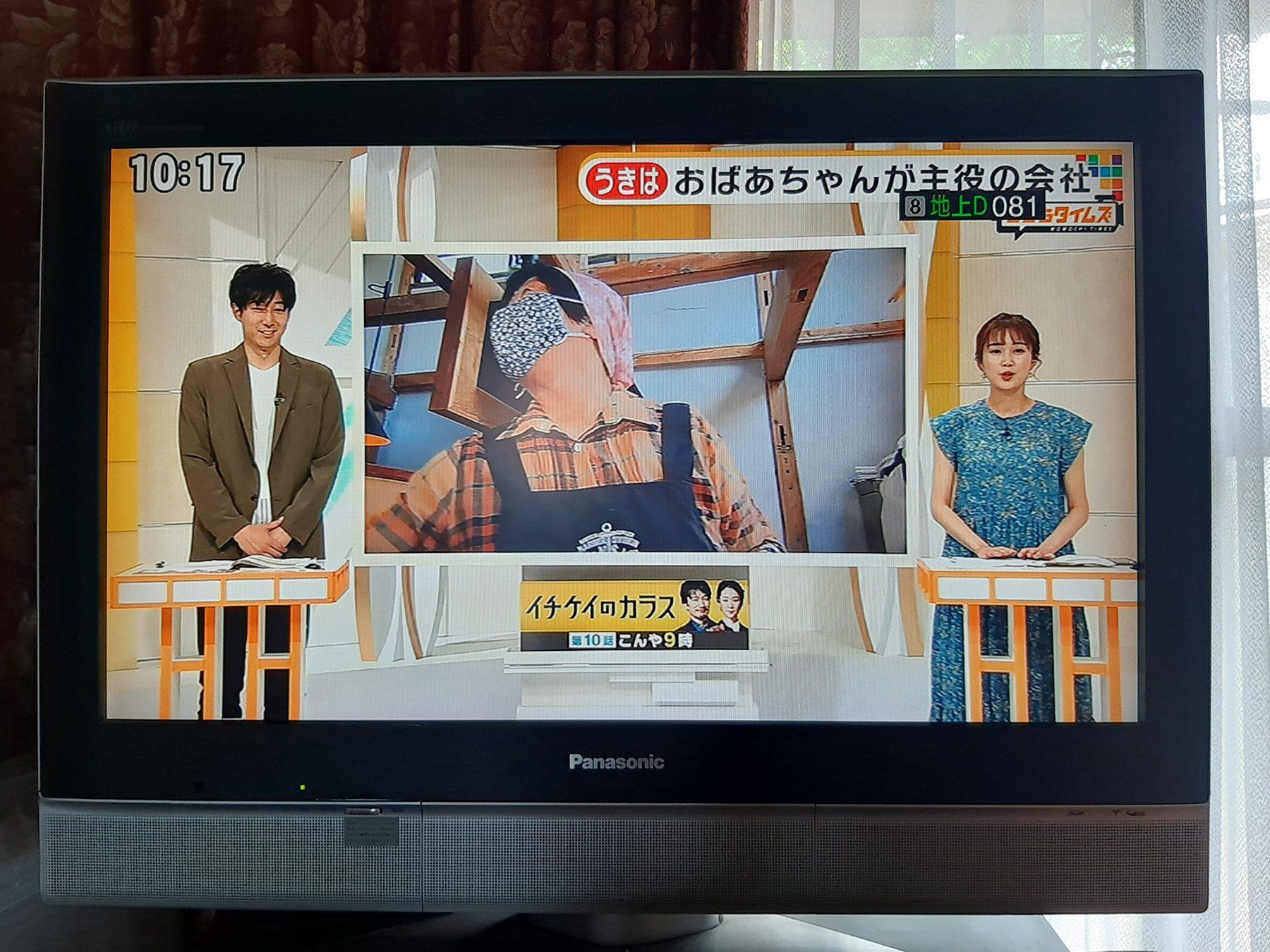 テレビ放映