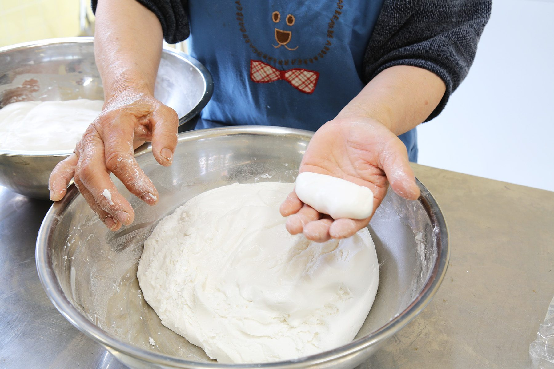 餅作りワークショップ